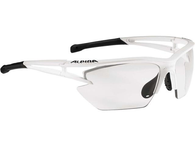 Alpina Eye-5 HR S VL+ Glasses matt white-black